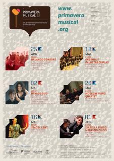 """Festival Internacional de Música de Castelo Branco """"Primavera Musical"""" – Conservatório Regional de Castelo Branco"""